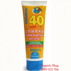 Kem chống nắng floresan spf 40