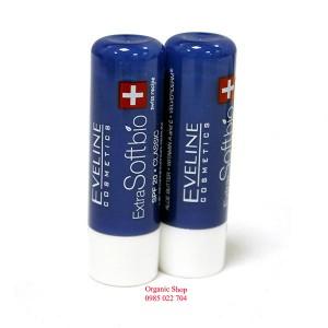Son dưỡng môi hữu cơ Eveline Extra Soft bio