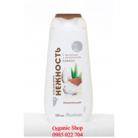 Sữa tắm dừa Auchan trắng da của Nga