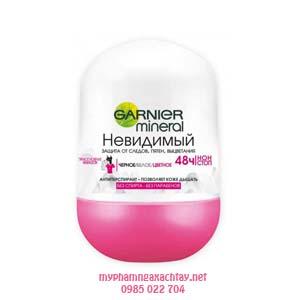 lan khu mui garnier ngan mui 48h Lăn khử mùi Garnier hồng ngăn mùi 48 giờ