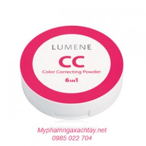 Phấn phủ Lumene CC Color Correcting Powder 6 in 1