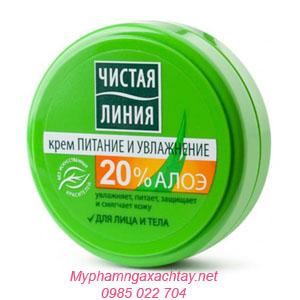 kem duong am pure line chiet xuat lo hoi 50ml Kem dưỡng ẩm Pure Line chiết suất từ lô hội
