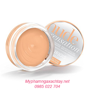 kem nen dang phan tuoi bourjois Mousse Cream Bourjois Nude Sensation Kem nền dạng phấn tươi Mousse Cream Bourjois Nude Sensation