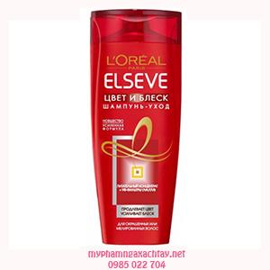 Dầu gội đầu Gloss L'Oreal Paris Elseve dành cho tóc nhuộm lên màu bóng