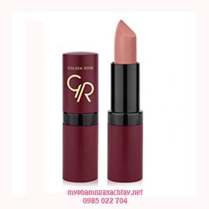 Son môi lì Golden Rose Velvet Matte Lipstick