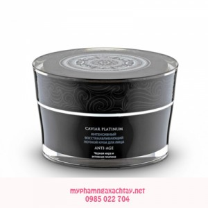 Kem đêm Caviar Platinum Natura Siberica chống lão hóa phục hồi da chuyên sâu