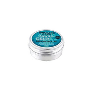 Dưỡng môi và má Lip Balm Snow Queen Organic Kitchen với chiết xuất dầu bạc hà hữu làm mát lạnh và làm mới làn da môi và má.