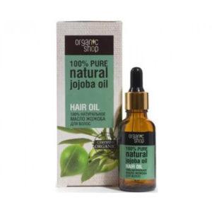 Tinh dầu cho tóc jojoba Organic Shop nó cung cấp cho tóckhối lượng và êm ái, làm cho chúng linh hoạt hơn, mạnh hơn và cải thiện tốc độ tăng trưởng của họ.