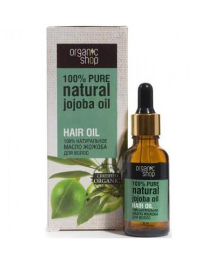 Tinh dầu cho tóc jojoba Organic Shop | Mỹ phẩm Nga xách tay