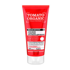 Ủ tóc Organic Shop chiết suất cà chua làm dày tóc cung cấp cho tóc dinh dưỡng đầy đủ.Dưỡng và phục hổi tóc hư tổn nhanh chóng, giúp suôn mượt tự nhiên.