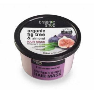 Ủ tóc Organic shop chiết suất quả sung và dầu hạnh nhân