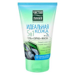 Gel rửa mặt Pureline 5in1 dòng sạch tinh khiết - 120ml