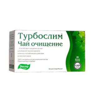 Trà giảm cân Turbo slim Nga