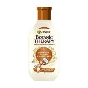 dau goi dau garnier tinh chat dua Dầu gội Garnier Botanic Therapy tinh chất dừa và dầu hạt macadamia chăm sóc tóc hiệu quả