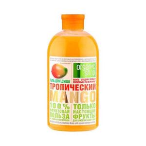 organic shop tropical mango shower gel 500ml Sữa tắm Organic Shop hương xoài ngọt ngào