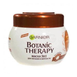 kem u toc garnier botanic therapy dua va qua macadamia kem ủ tóc Garnier Botanic Therapy Macka 3in1 tinh chất dầu dừa và quả macadamia phục hồi tóc hư tổn