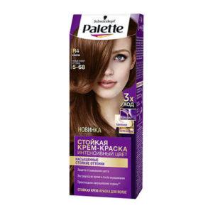 nhuom toc palette R4 Kem nhuộm tóc chuyên sâu Schwarzkopf Palette R4 màu hạt dẻ