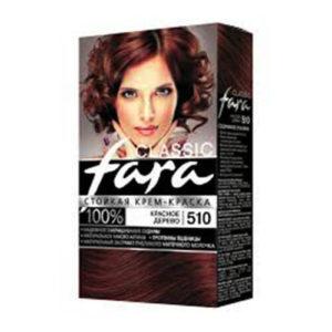 thuoc nhuom fara classic 510 Thuốc nhuộm tóc Fara Classic 510 màu gỗ gụ