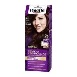 thuoc nhuom toc palette R2 Kem nhuộm tóc chuyên sâu Schwarzkopf Palette R2 màu gỗ gụ