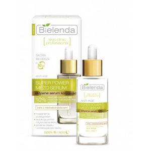 serum zielone 700x700 Serum Bielenda Super Power Mero Serum 10% chống lão hóa, trắng da chuyên sâu – 30ml