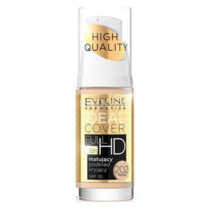Kem nền Eveline Cover Full HD che khuyết điểm siêu mịn - 30ml