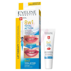 7ae497bd726475c8a3ca6288aa674e123e00967a Serum trị thâm  và căng mọng môi 8in1 Total Action Eveline