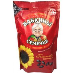 Graines de tournesol Babkiny 300g 4605362006217 Hướng dương bà già Nga 300g