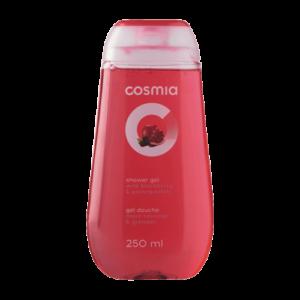 Gel tắm Cosmia hương dâu rừng và lựu chai 250ml