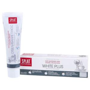 Kem đánh răng Splat trắng răng an toàn, bảo vệ men răng WHITE PLUS - 100ml