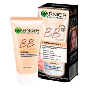 garnier 3600541930889 images 9157085866 Kem nền dưỡng da BB Cream Garnier 5in1 Classic
