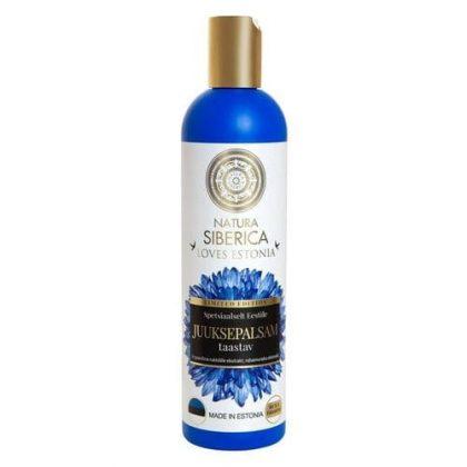 Dầu xả phục hồi tóc Loves Estonia Natura Siberica kích thích chân tóc, làm tóc bóng mượt, dưỡng tóc – 400ml