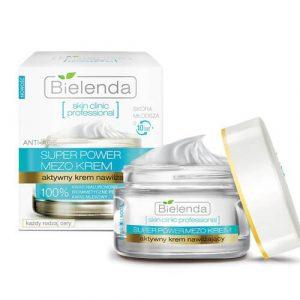 file 3586 Kem dưỡng ẩm trẻ hoá và làm trắng làn da Bielenda super power mezo cấp nước dành cho da khô, da mất nước,