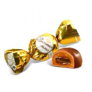 1 40066738 1 1 Kẹo Bông Huệ Vàng - Kẹo Socola Caramen Cao Cấp của Nga