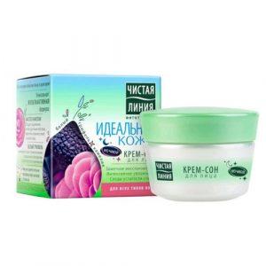 75 2  4 Kem dưỡng da mặt ban đêm Pure Line Chiết Xuất Thảo Mộc Tự Nhiên tăng cường nuôi dưỡng và giữ ẩm cho da, kích thích phục hồi, cải thiện làn da
