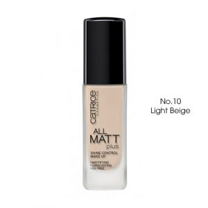 kem nen catrice 18h all matt plus shine control make up no10 light beige boshop Kem Nền Catrice Đức All Matt Plus Shine Control Make Up 18h