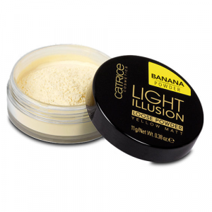 Phấn phủ dạng bột Catrice Light Illusion Banana Powder 11g