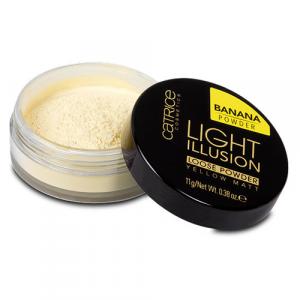 Phấn phủ dạng bột Catrice Light Illusion Banana Powder 11g