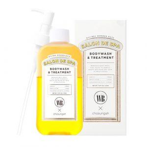 5f89fd243b027a377bc964cd790e28c5 1 Sữa tắm dưỡng trắng da Salon De Spa Body & Treatment WB x Chosungah