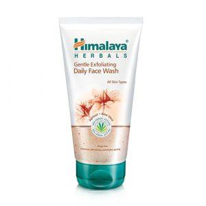 Sửa rửa mặt và tẩy tế bào chết Himalaya Herbals 2in1 ngừa mụn đầu đen, mụn cám - 150ml