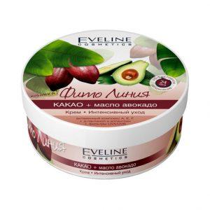 Kem dưỡng Eveline cho da mặt và toàn thân tinh chất cacao và trái bơ - 210ml