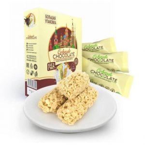 Kẹo yến mạch Socola trắng nhập khẩu Nga - Kẹo Cobarde Chocolate hộp 400g