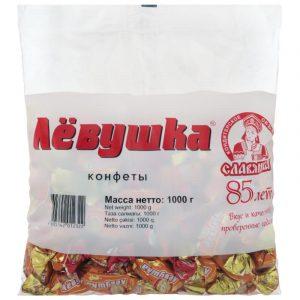 Kẹo sư tử Liovushka Nga 1KG chính hãng