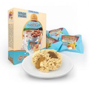 Bánh yến mạch socola trắng cobarde - hộp 400g