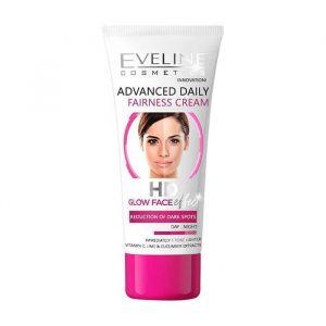 Kem dưỡng trắng da Eveline HD Glow Face – 40ml