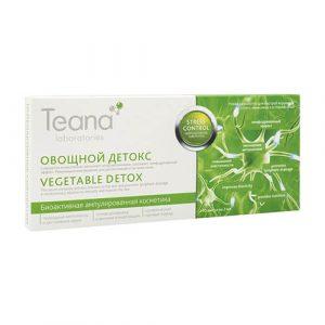 Serum Teana Vegetable Detox chống ô nhiễm thải độc sâu giảm Stress cho da – 20ml
