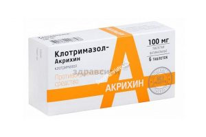 dat phu khoa clotrimazole akrihin cua nga 76 Viên đặt phụ khoa của Nga Clotrimazol hộp 6 viên