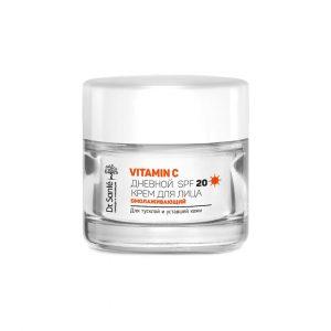 kem ngay 5 Kem dưỡng da trẻ hóa ban ngày Vitamin C Dr.Sante 50ml SPF 20