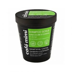 Tẩy da chết cho da đầu Shampoo Scrub Super Volume Cafe Mimi - 330ml