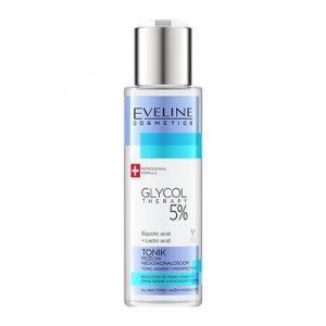 Toner Eveline Glycol Therapy 5% se khít lỗ chân lông - 110ml